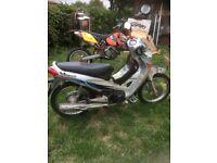 Honda 125cc ANF SILVER Moped Bike