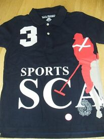 Boys top Scapa Sports size 8 years