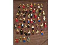 54 Lego figures