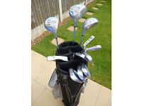 Ladies Dunlop Graphite shafted golf clubs
