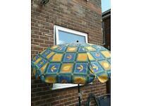 Sun shade parasol