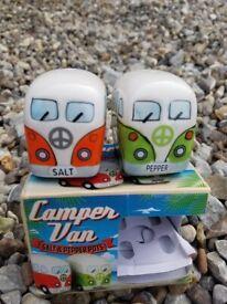 Camper Van Salt+Pepper Pots