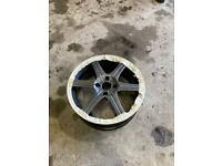 "17"" Kahn alloy wheels"