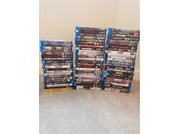 70 Blu ray DVD bundle, Excellent condition and top titles