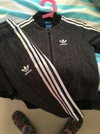 Adidas Tracksuit 18/24 month. Brand new
