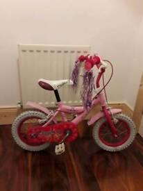 """Girls 12"""" Angel bike"""