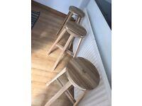 bar stools (3units)
