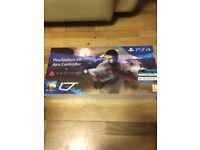 PS4 VR Aim Controller with Farpoint game Brand New Sealed