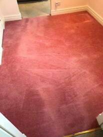 Pink carpet good condition