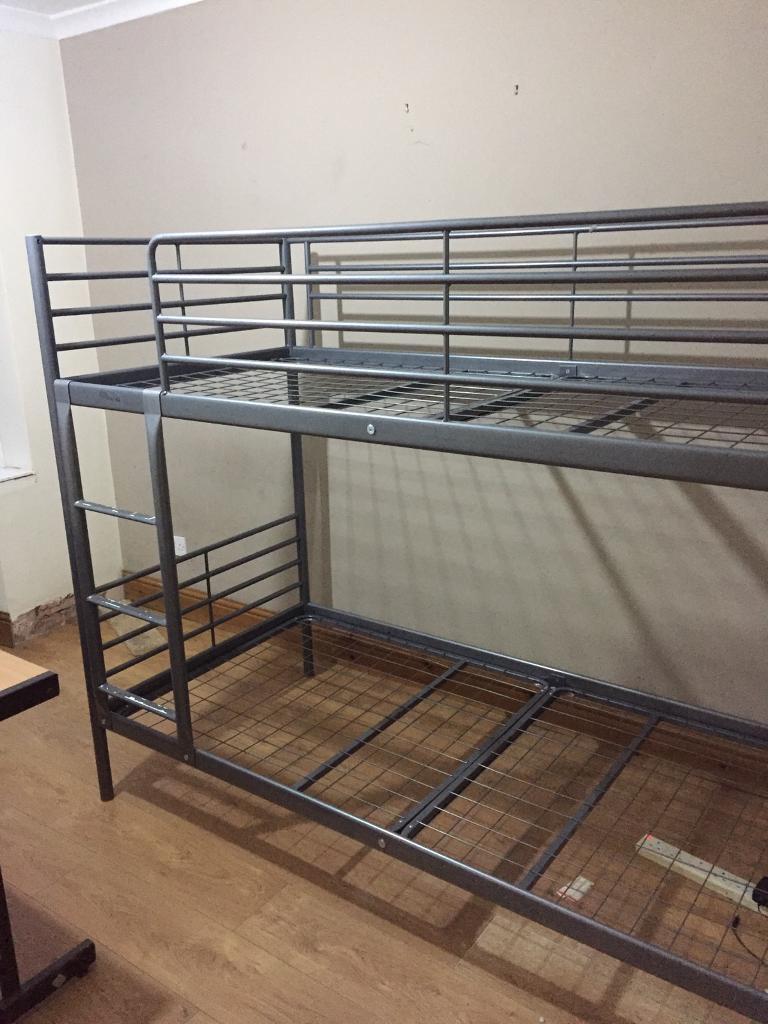Bunk bed metal frame