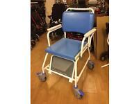 Atlantic Wheelchair Conmode - Showerchair Cheap RRP £ 338