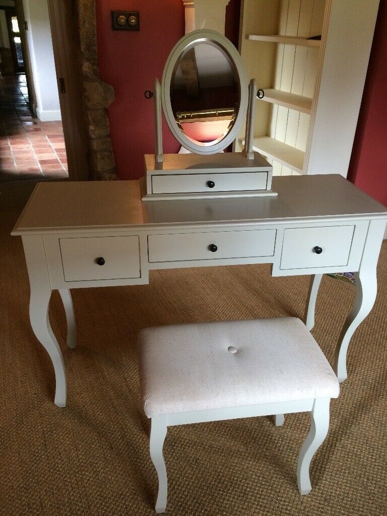the latest f9fde 9a235 Laura Ashley Rosalind Dressing Table, Oval Mirror, Matching Stool and two  Rosalind Bedside Tables   in Melton Mowbray, Leicestershire   Gumtree