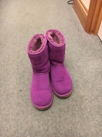 Real purple ugg boots