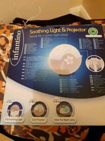Baby Night light Soother