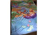 Winnie the Pooh Single Bed Duvet Set - Reversible