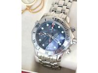Omega Seamaster Professional Chronograph automatic with box and papers
