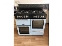 Cookmaster range gas hob electric oven