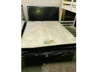 🔵💖🔴CONFIDANT DEAL ON DOOR🔵💖🔴Double or King Size Divan bed Base + Orthopedic Mattress/drawers