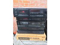 Hifi separates job lot,Pioneer,Denon,Kenwood,cd,tuners,turntable,cassette decks mostly working