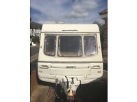 2 berth Swift challenger touring caravan