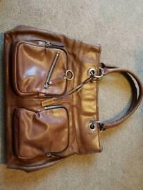 Tan Leather Hidesign handbag