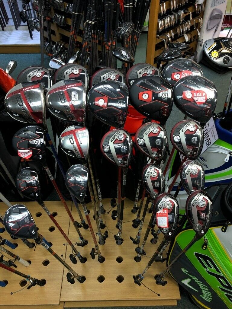 wilson staff driver shaft options