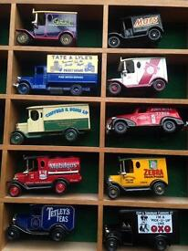 Lledo Days Gone By - 15 model cars (collectors item)