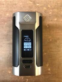 Wismec predator 228 Vape mod in silver brand new boxed