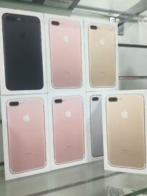 I phone 7 plus BRAND NEW UNLOCKED(with warranty and receipt)