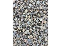 Lanarkshire riverbed gravel