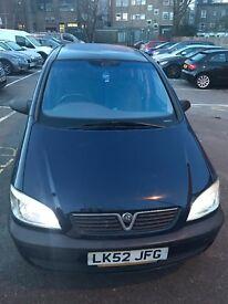Vauxhal zafira 1,6 petrol , 7 seater