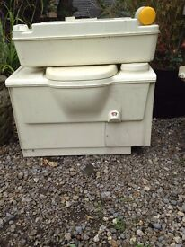 Toilet from a Fiat Ducato 4 x 4 Campervan