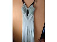 Debenhams size 14 mint green overlay dress £20.00