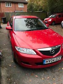 Mazda 6, 1.8 Petrol, 1 previous owner, MOT till April 2018, drives well,£575 o.n.o