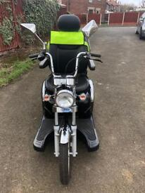 Drive medical sport rider only 42-miles in clock 8-mph mobility scooter