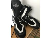 Adidas size 10 long boots