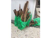 Free dry wood
