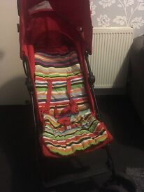 Red Mothercare Nanu buggy