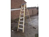 YOUNGMAN 7 TREAD STEP LADDER,,ELECTRICIAN / SPARKS / BUILDER / USED STEPS / CHEAP STEPS,,,,,,,,,,,,,