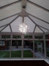 Centre Light Fitting LED Show Stopper
