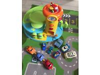 ELC Garage, cars & play mat