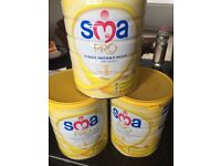 SMA baby powder milk stage 1 new born brand new