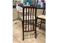 4 x breakfast/bar chairs