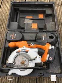 Worx 18v cordless circular saw