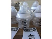 10 x Tommee Tippee Closer to Nature Bottles