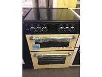 Belling cream 60cm dual fuel cooker