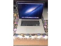 "Apple MacBook Pro 2.7 GHz Core i7 15"" Early 2013 512GB SSD 16GB RAM"