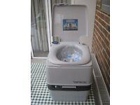 Thetford Porta Potti 465 Electric (Battery) Flush Toilet - New, Unused