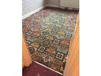 Free: period style used carpet
