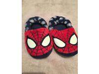 SIZE 10 SPIDER-MAN SLIPPERS